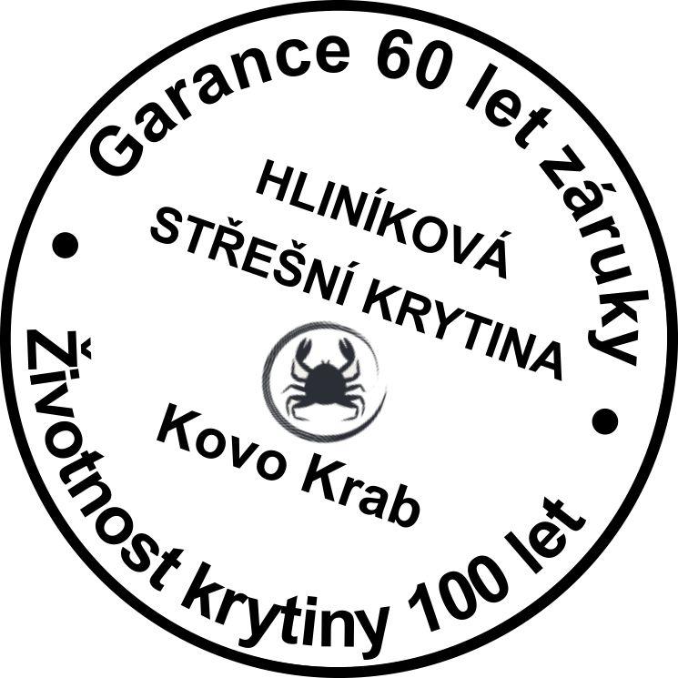 Hliníková střešní krytina - garance záruky 60 let, životnost 100let